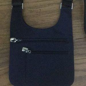 Nine West Bags - Nine West Navy Crossbody with black strap.